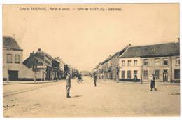Camp De Beverloo - Rue De La Station 1923 (Geanimeerd) - Leopoldsburg