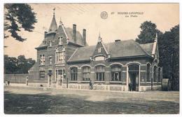 27. Bourg-Léopold -  La Poste 1921 (Geanimeerd) - Leopoldsburg