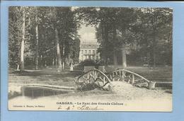 Livry-Gargan (93) Le Parc Des Grands Chênes 2 Scans Petit Pont Villa De M. Lolliot - Livry Gargan