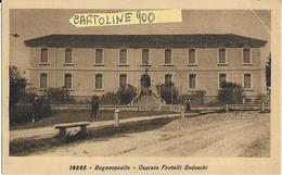Emilia Romagna-ravenna-bagnacavallo Veduta Ospizio Fratelli Bedeschi - Autres Villes