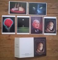 Coffet De 6 Cartes Postales  Illustrateur Luigi CASTIGLIONI - Illustrateurs & Photographes