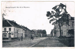 Bourg-Léopold - Rue De La Régence 1921  (Geanimeerd) - Leopoldsburg