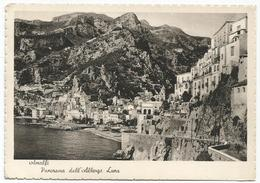 X3617 Amalfi (Salerno) - Panorama Dall'albergo Luna / Viaggiata 1949 - Italy