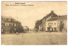 Bourg-Léopold - Place Des Princes Et Chaussée D'Anvers 1907 - Leopoldsburg