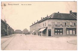 Bourg-Léopold - Rue De La Station 1919 (Geanimeerd) - Leopoldsburg