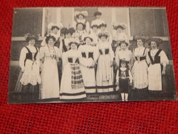 LANDEN  - Vlaamse Kermis, Mei 1910. Buffet  - Kermesse Flamande, Mai 1910 - Buffet Froid - Landen
