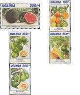 Ref. 234360 * MNH * - UGANDA. 1996. FRUITS . FRUTOS - Fruits