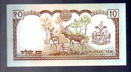 10 Rupee With Deer (B-19) - Nepal