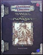 DUNGEONS & DRAGONS 3.0 - Manuel Des Psioniques - Dungeons & Dragons