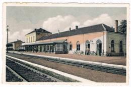 Bourg-Léopold - Gare ( Statie)  1959 (Geanimeerd) - Leopoldsburg