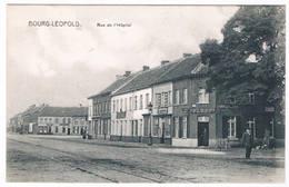 Bourg-Léopold - Rue De L'Hôpital  (Geanimeerd) - Leopoldsburg