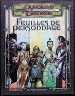 DUNGEONS & DRAGONS 3.5 - Feuilles De Personnages - Donjons & Dragons