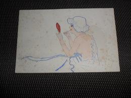 Femme ( 878 )  Carte érotique  Nue  Nu  Seins Nus - Donne