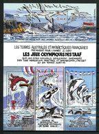 TAAF2002 Bloc N° 7 ** ( 340/343 ) Neuf MNH Superbe C 13 € Oiseaux Birds Poissons Fishes Crustacés Langoustes Animaux - Blocks & Kleinbögen