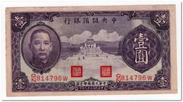 CHINA,1 YUAN,1940,P.J9,VF - China