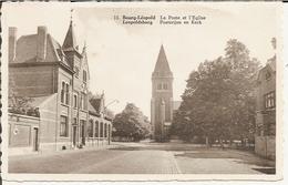 11 - Leoposburg - Posterijen En Kerk 19.. - Leopoldsburg