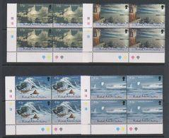 British Antarctic Territory (BAT) 2000 Antarctic Symphony 4v Bl Of 4 (corner) ** Mnh (39820A) - Ongebruikt