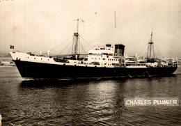 CHARLES PLUMIER - Dampfer