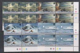 British Antarctic Territory (BAT) 2000 Antarctic Symphony 4v Bl Of 4 (corner) ** Mnh (39820B) - Ongebruikt