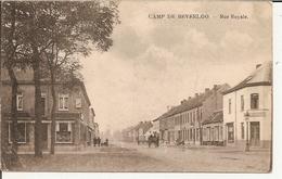 Camp De Beverloo - Rue Royale  1919 (Geanimeerd) - Leopoldsburg