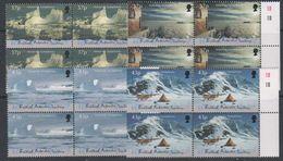 British Antarctic Territory (BAT) 2000 Antarctic Symphony 4v Bl Of 4  ** Mnh (39820D) - Ongebruikt