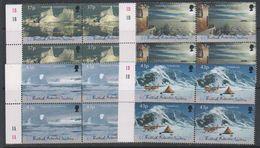 British Antarctic Territory (BAT) 2000 Antarctic Symphony 4v Bl Of 4  ** Mnh (39820E) - Brits Antarctisch Territorium  (BAT)