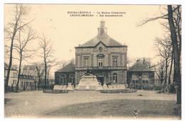 Bourg - Léopold - Het Gemeentehuis 1923 (2 Scan's) - Leopoldsburg
