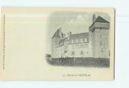Château De EPINAC - Dos Simple -  2 Scans - Unclassified