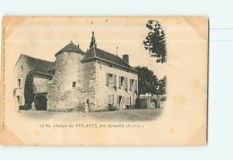 GENOUILLY - Château Des VOLANTS  - Dos Simple -  2 Scans - Unclassified
