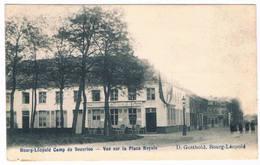Bourg-Léopold - Vue Sur La Place Royale 1914 - Leopoldsburg