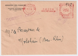 1948 Frz. Armee-Post ,Frei-Stp.  Auslands-Bf. #a866 - Zona Francese