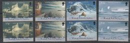 British Antarctic Territory (BAT) 2000 Antarctic Symphony 4v (pair) ** Mnh (39821) - Ongebruikt