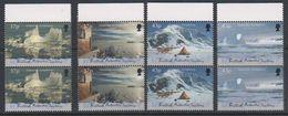 British Antarctic Territory (BAT) 2000 Antarctic Symphony 4v (pair, Margin) ** Mnh (39821A) - Ongebruikt