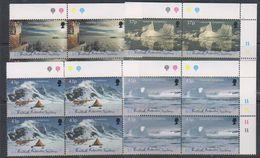 British Antarctic Territory (BAT) 2000 Antarctic Symphony 4v Bl Of 4 (corner) ** Mnh (39821B) - Brits Antarctisch Territorium  (BAT)