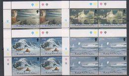 British Antarctic Territory (BAT) 2000 Antarctic Symphony 4v Bl Of 4 (corner) ** Mnh (39821C) - Brits Antarctisch Territorium  (BAT)