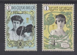 BE 2015 - N° 4520/21 XX  La Reine Elisabeth -, 50 Ans Après Son Décès - Belgique
