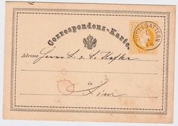 """1876, """" SCHNEEGARTERN """" - Ober-Österreich -  ,  #a870 - 1850-1918 Empire"""
