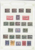 GUATEMALA - SUPERBE COLLECTION POSTE AERIENNE PRESQUE COMPLETE */MH CHARNIERE LEGERE Sur 21 FA - COTE YVERT = 1420 EUR. - Collections (en Albums)