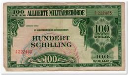 AUSTRIA,100 SHILLING,1944,P.110,aVF - Austria