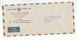 UN In SYRIA UNDP DAMASCUS COVER To UN NY USA United Nations - Syria