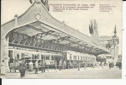 Liege   Exposition De 1905   Wagons-Lits  Train De Luxe - Liege