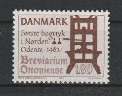 1982, 23. Sept. 500 Jahre Buchdruck In Dänemark. StTdr. (510); Gez. K 12. - Dänemark