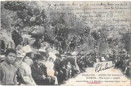 PLUMARI --Fête Et Jeux A Copella -Recto-Verso - Grèce