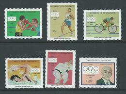 El Salvador 1984 Los Angeles Olympics Set Of 6 MNH - El Salvador