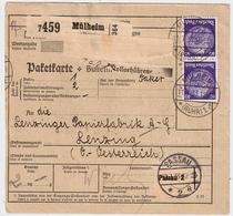 DR, Nr. 472, MeF ,Paketkarte  Mi. 150.- ,  #a877 - Deutschland