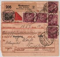 1922, Seltene Nr. 184, Wz. Waffeln ,25 Werte (Mi. 520.- Für Einwandfreie) ,  #a878 - Covers & Documents