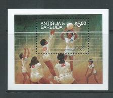Antigua & Barbuda 1984 Los Angeles Olympic Games Volleyball Miniature Sheet MNH - Antigua And Barbuda (1981-...)