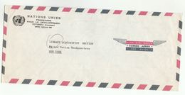 UN In DAHOMEY COVER UNDP Cotonou To UN NY USA United Nations - Benin - Dahomey (1960-...)