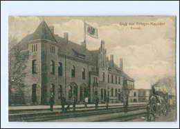 XX00712-158./ Rehagen-Klausdorf  Bahnhof AK 1915 - Allemagne