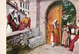 KOSTUME KOMBETARE SHQIPTARE / COSTUMES ALBANAIS / ALBANESE TRADITIONAL COSTUMES - GJIROKASTER - 1968 (ab940) - Albanie